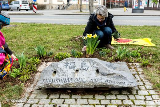 Fukushima-Gedenkaktion 2016-03-11, Göttingen, Anti-AKW, Grohnde stillegen